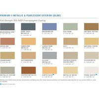 C&I Architectural Color Chart image