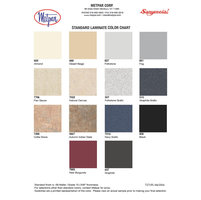 Plastic Laminate Color Chart image