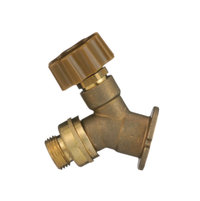 HY-9040-NPB Low Brass Wall Faucet 1/2? Connection image