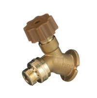 HY-9041-NPB Low Brass Wall Faucet 3/4? Connection image