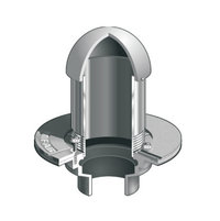 F1100-C-W(D) Overflow Drain with Standpipe (Optional Dome) image