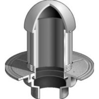 F1100-W(D) Overflow Drain with Standpipe (Optional Dome) image