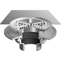 F1100-FC Floor Drain with Surface Membrane Clamp image
