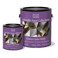 Metallic Paint Collection - Exterior Satin Finish image