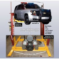 Turf Maintenance Equipment and Auto Service Lift image