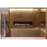 C1420 – CLR Commercial Corner Custom Gas Fireplace  image