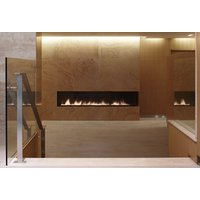 C1320 – CLR Commercial Corner Custom Gas Fireplace  image