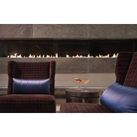 C1220 – CLR Commercial Corner Custom Gas Fireplace  image
