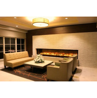 C1120 – ST Commercial See Through Custom Gas Fireplace image