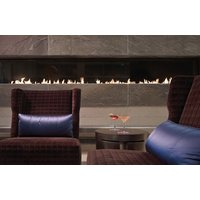 C1120 – CLR Commercial Corner Custom Gas Fireplace  image