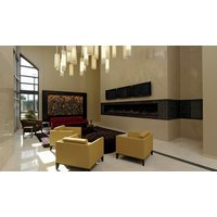 C1120 Commercial Single Sided Custom Gas Fireplace image