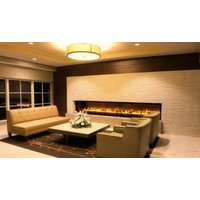 C1020 – ST Commercial See Through Custom Gas Fireplace image