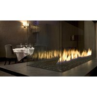 C620-PFC Commercial Peninsula Custom Gas Fireplace  image