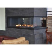 C520-PFC Commercial Peninsula Custom Gas Fireplace image