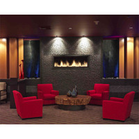 C520 Commercial Single Sided Custom Gas Fireplace  image
