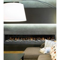 Gas Fireplace - Light Commercial - 8ft Modern Single Sided image