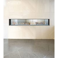 Gas Fireplace - Light Commercial - 8ft Modern See Through image