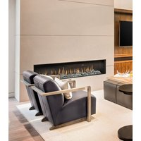 Gas Fireplace - Light Commercial - 7ft Modern Single Sided image