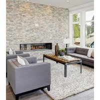 Gas Fireplace - Light Commercial - 7ft Modern See Through image