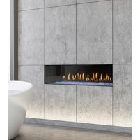 Gas Fireplace - Light Commercial - 3ft Modern Single Sided image