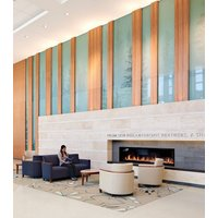 Gas Fireplace - Custom Commercial - 7ft Modern Single Sided image