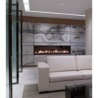 Gas Fireplace - Custom Commercial - 6ft Modern Single Sided image
