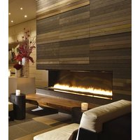 Gas Fireplace - Custom Commercial - 6ft Modern Corner image