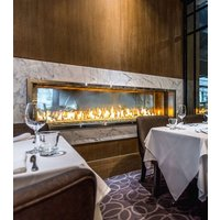Gas Fireplace - Custom Commercial - 5ft Modern Indoor/Outdoor image