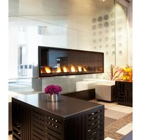 Gas Fireplace - Custom Commercial - 5ft Modern Single Sided image