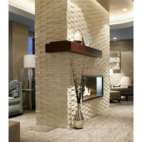 Gas Fireplace - Custom Commercial - 4ft Modern Single Sided image