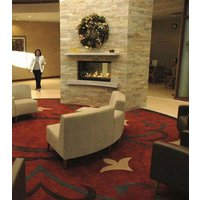 Gas Fireplace - Custom Commercial - 3ft Modern See Through image
