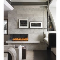 Gas Fireplace - Custom Commercial - 3ft Modern Corner image