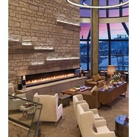 Gas Fireplace - Custom Commercial - 15ft Modern Corner C-VIEW (C1520CL/CR) image
