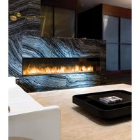 Gas Fireplace - Custom Commercial - 10ft Modern Single Sided image