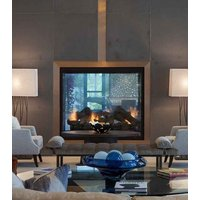 Gas Fireplace - Custom Commercial - 6ft Classic Traditional See Through image
