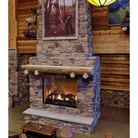 Gas Fireplace - Custom Commercial - 6ft Classic Traditional Single Sided image