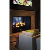 Gas Fireplace - Custom Commercial - 5ft Classic Traditional See Through image