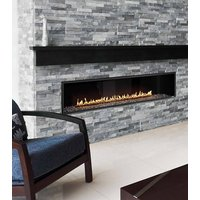 Gas Fireplace - Luxury Residential - 7ft Modern Single Sided EXEMPLAR Series (R720) image