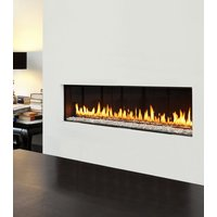 Gas Fireplace - Luxury Residential - 4ft Modern Single Sided image