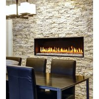 Gas Fireplace - Luxury Residential - 3ft Modern Single Sided image