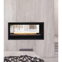 "Gas Fireplace - Residential - 42"" Modern See Through image"