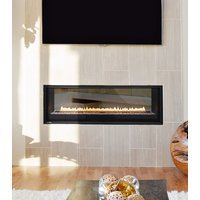 "Gas Fireplace - Residential - 52"" Modern See Through image"