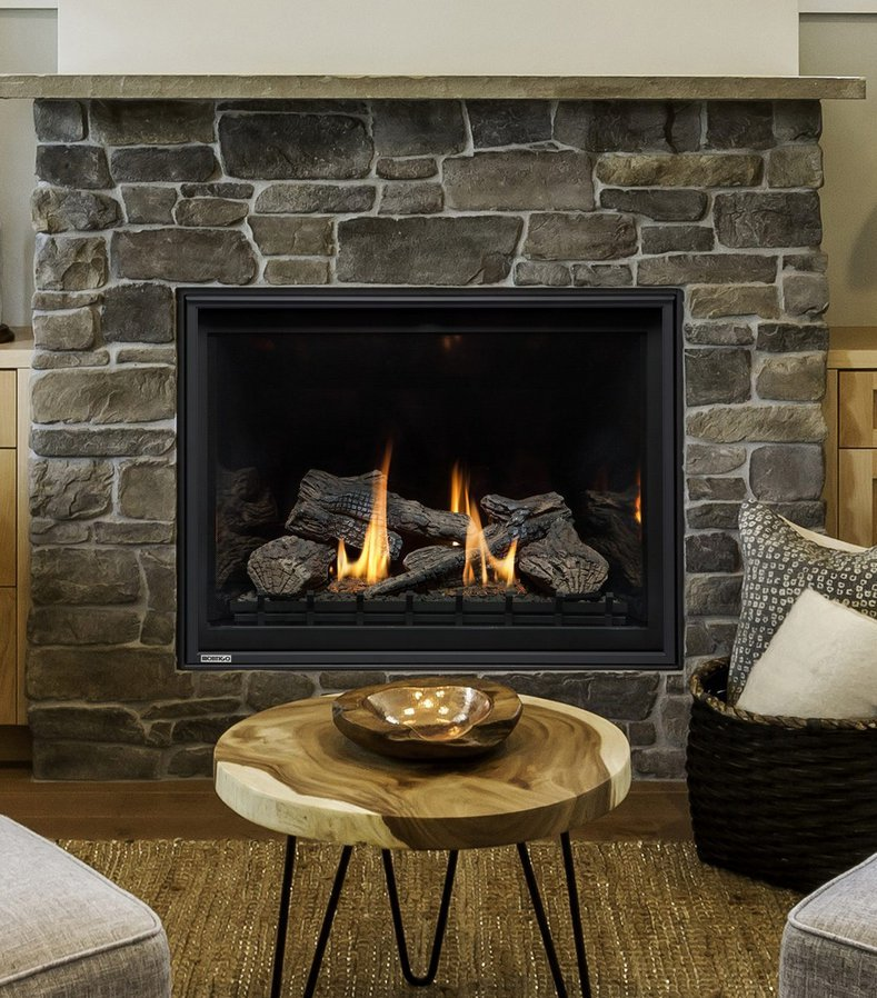 "Gas Fireplace - Residential - 38"" Classic Traditional Wildfire Single Sided"