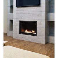 "Gas Fireplace - Residential - 42"" Modern Single Sided image"