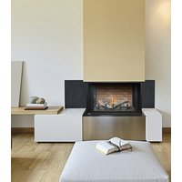 "Gas Fireplace - Residential - 38"" Classic Traditional Bay image"