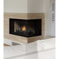 "Gas Fireplace - Residential - 38"" Classic Traditional Corner image"