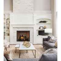"Gas Fireplace - Residential - 36"" Classic Traditional Single Sided image"