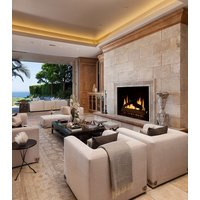 Gas Fireplace - Custom Commercial - 4ft Classic Traditional Single Sided image