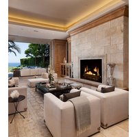 Gas Fireplace - Custom Commercial - 3ft Classic Traditional Single Sided image