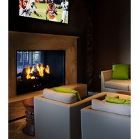 Gas Fireplace - Custom Commercial - 3ft Classic Traditional See Through image